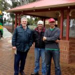 Ben Wyatt MLA drops by to see the action at Victoria Park RSL