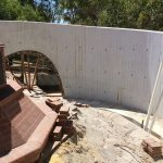 Building the Victoria Park RSL Memorial Wall, 2015